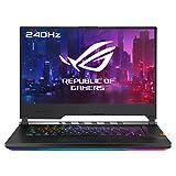 ASUS ROG Strix SCAR III G531GW-AZ271T - Portátil Gaming de 15,6' FullHD (Intel Core i7-9750H, 16GB RAM, 1TB SSD, GeForce RTX2070-8GB, Windows 10) Negro - Teclado QWERTY Español