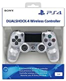SONY PS4 DUAL SHOCK WIRELESS CONTROLLER V2 TRANSLUCENT CRYST
