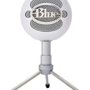 Blue Microphones Snowball Ice - Micrófono condensador, conexión USB. Ideal para empezar